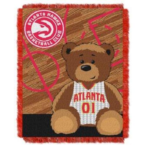 Atlanta Hawks Baby Woven Jacquard Throw