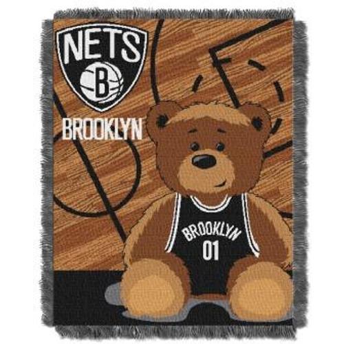 Brooklyn Nets Baby Woven Jacquard Throw
