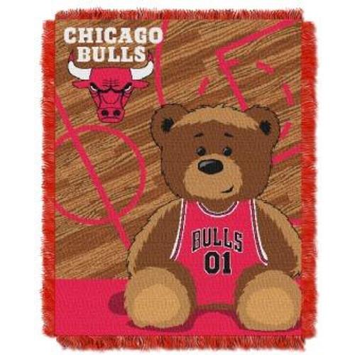 Chicago Bulls Baby Woven Jacquard Throw