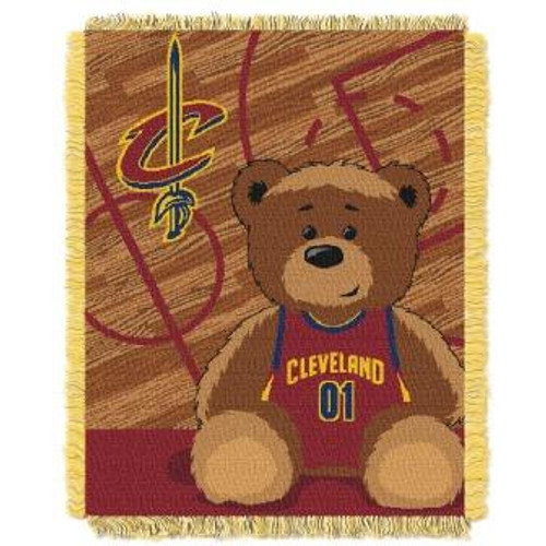 Cleveland Cavaliers Baby Woven Jacquard Throw