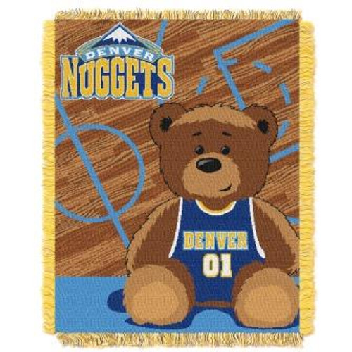 Denver Nuggets Baby Woven Jacquard Throw