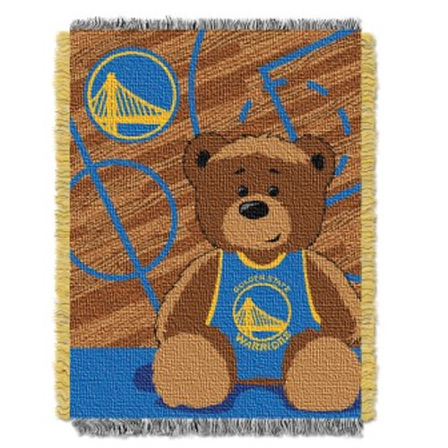 Golden State Warriors Baby Woven Jacquard Throw