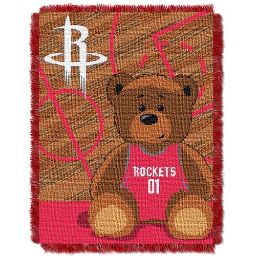Houston Rockets Baby Woven Jacquard Throw