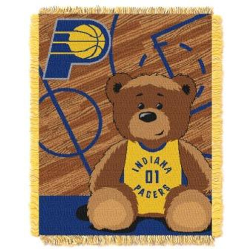 Indiana Pacers Baby Woven Jacquard Throw