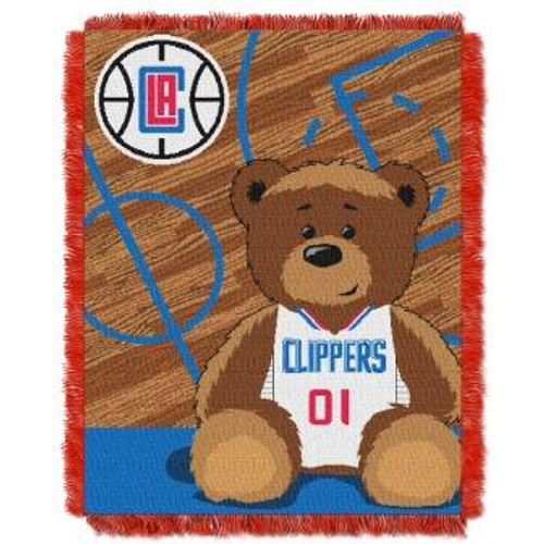 Los Angeles Clippers Baby Woven Jacquard Throw