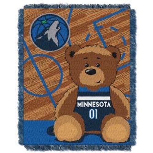 Minnesota Timberwolves Baby Woven Jacquard Throw