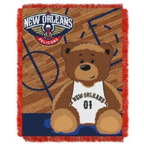 New Orleans Pelicans Baby Woven Jacquard Throw