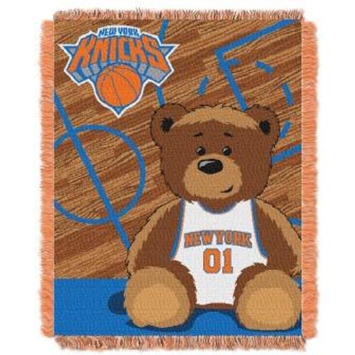 New York Knicks Baby Woven Jacquard Throw