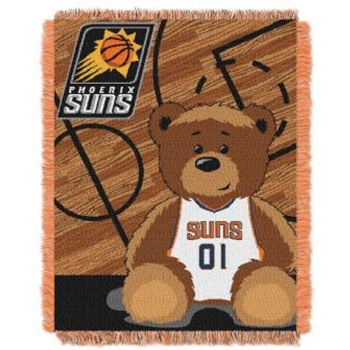 Phoenix Suns Baby Woven Jacquard Throw