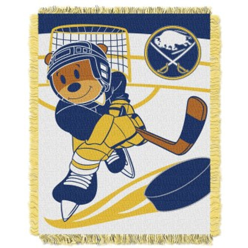 Pittsburgh Penguins Baby Woven Jacquard Throw