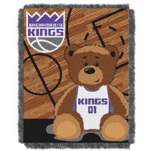 Sacramento Kings Baby Woven Jacquard Throw