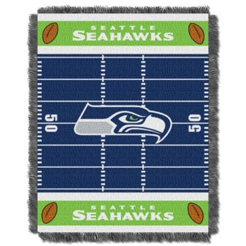 Seattle Seahawks Baby Woven Jacquard Throw
