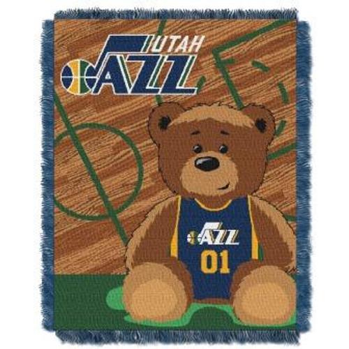Utah Jazz Baby Woven Jacquard Throw