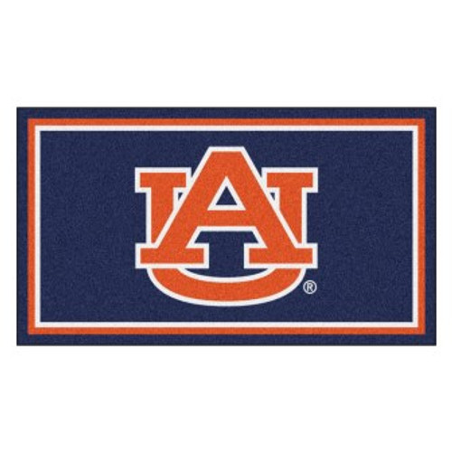 Auburn University 3x5 Rug