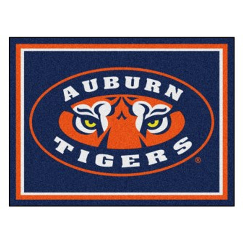 Auburn University 8x10 Rug
