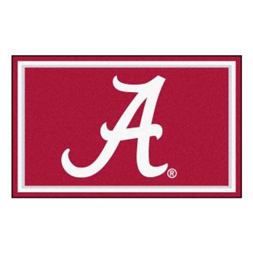 University of Alabama 4x6 Rug