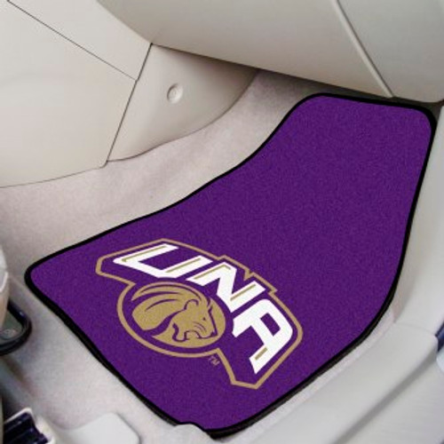 University of North Alabama 2-pc Carpet Car Mat Set