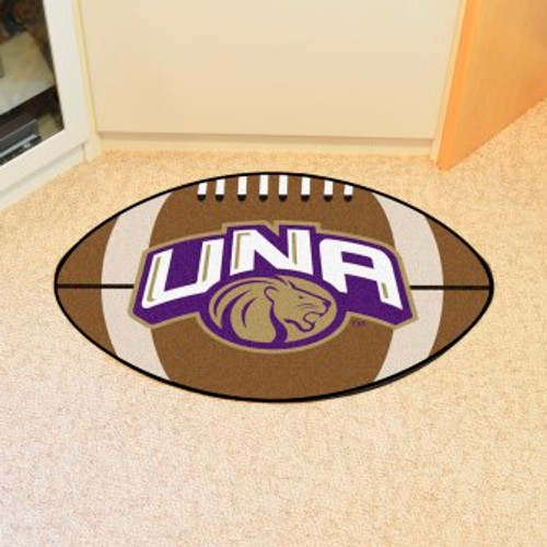 University of North Alabama Football Mat