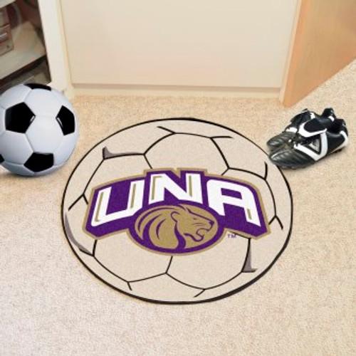 University of North Alabama Soccer Ball Mat