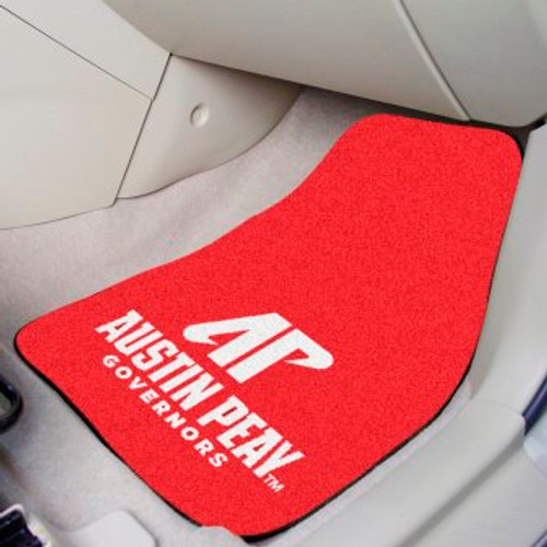 Austin Peay State University 2-pc Carpet Car Mat Set