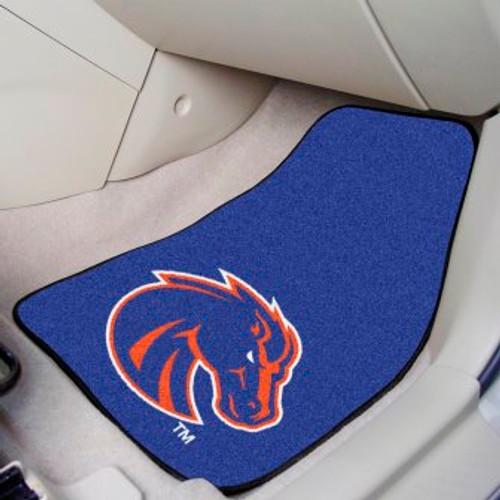 Boise State University 2-pc Carpet Car Mat Set