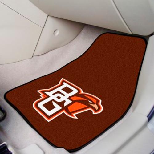 Bowling Green State University 2-pc Carpet Car Mat Set