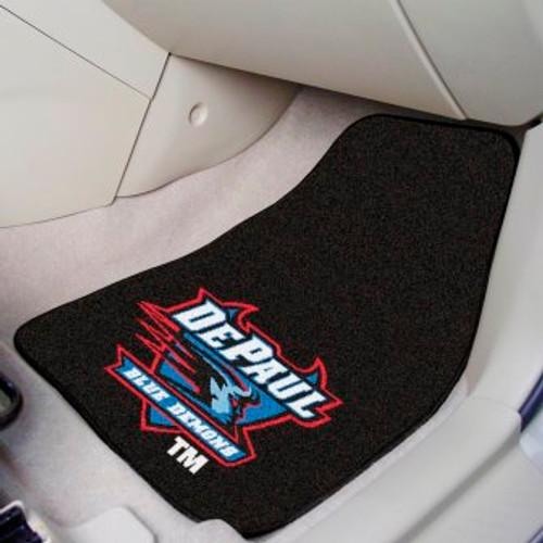 DePaul University 2-pc Carpet Car Mat Set