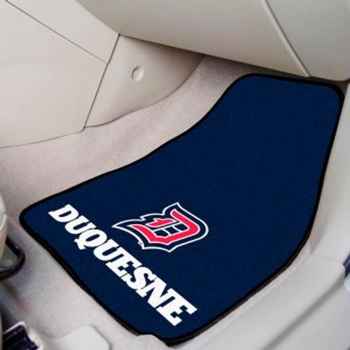 Duquesne University 2-pc Carpet Car Mat Set