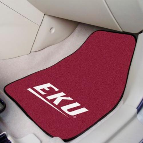 Eastern Kentucky University 2-pc Carpet Car Mat Set