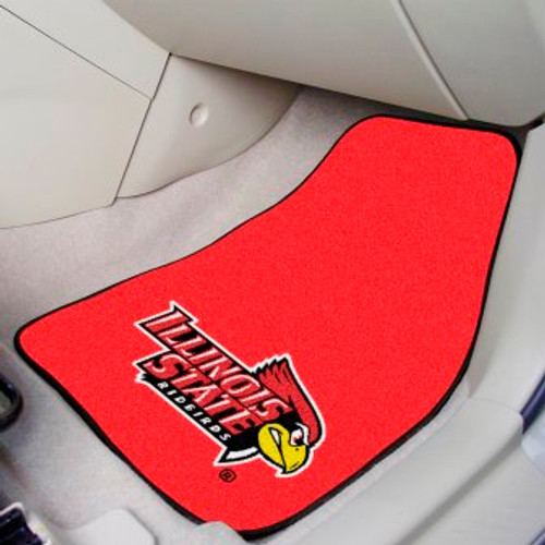 Illinois State University 2-pc Carpet Car Mat Set