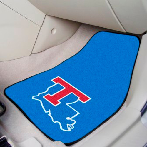 Louisiana Tech University 2-pc Carpet Car Mat Set