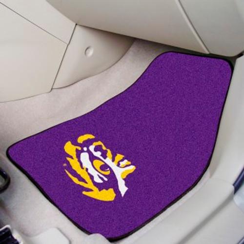 Louisiana State University 2-pc Carpet Car Mat Set