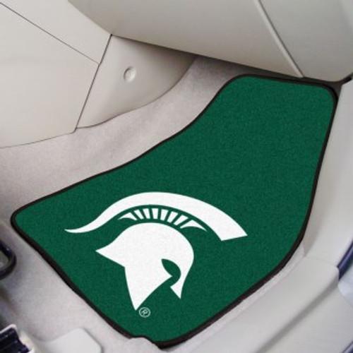 Michigan State University 2-pc Carpet Car Mat Set
