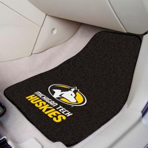 Michigan Tech University 2-pc Carpet Car Mat Set