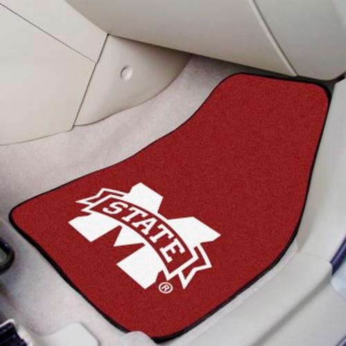 Mississippi State University 2-pc Carpet Car Mat Set