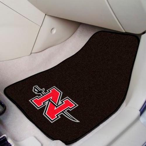 Nicholls State University 2-pc Carpet Car Mat Set