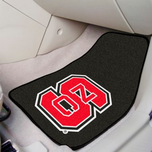 North Carolina State University 2-pc Carpet Car Mat Set