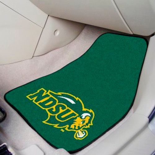 North Dakota State University 2-pc Carpet Car Mat Set
