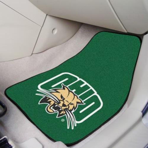 Ohio University 2-pc Carpet Car Mat Set