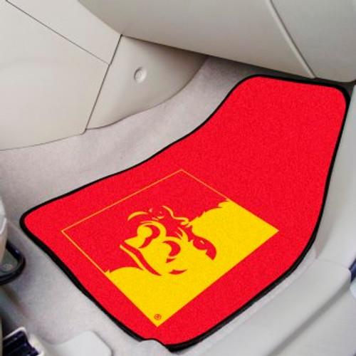 Pittsburg State University 2-pc Carpet Car Mat Set