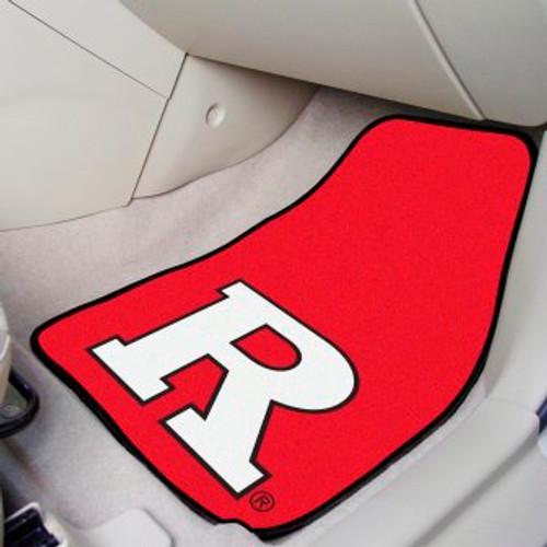 Rutgers University 2-pc Carpet Car Mat Set