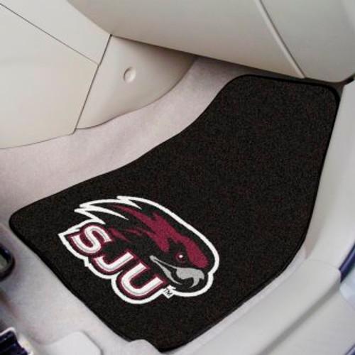 St. Joseph's University 2-pc Carpet Car Mat Set