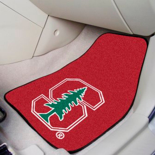 Stanford University 2-pc Carpet Car Mat Set