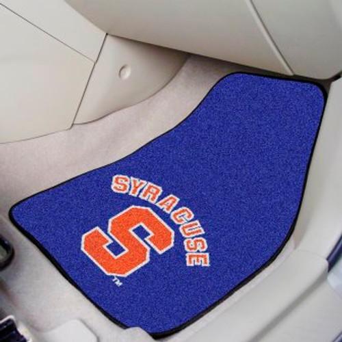 Syracuse University 2-pc Carpet Car Mat Set