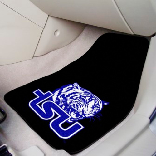 Tennessee State University 2-pc Carpet Car Mat Set