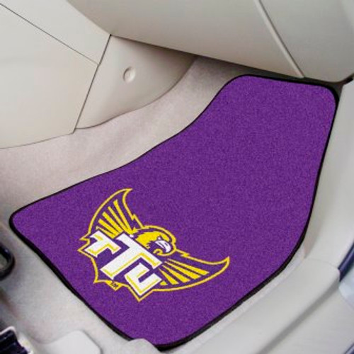 Tennessee Technological University 2-pc Carpet Car Mat Set