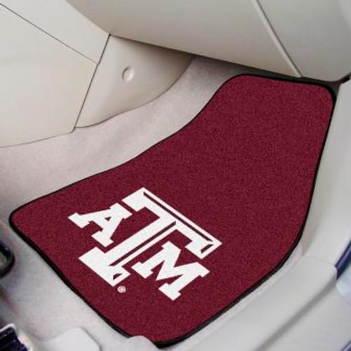 Texas A&M University 2-pc Carpet Car Mat Set