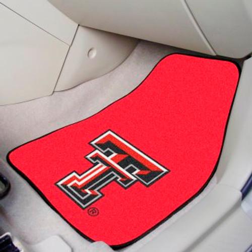 Texas Tech University 2-pc Carpet Car Mat Set