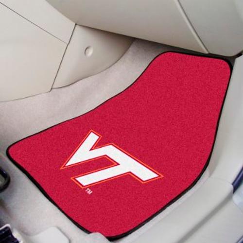 Virginia Tech 2-pc Carpet Car Mat Set