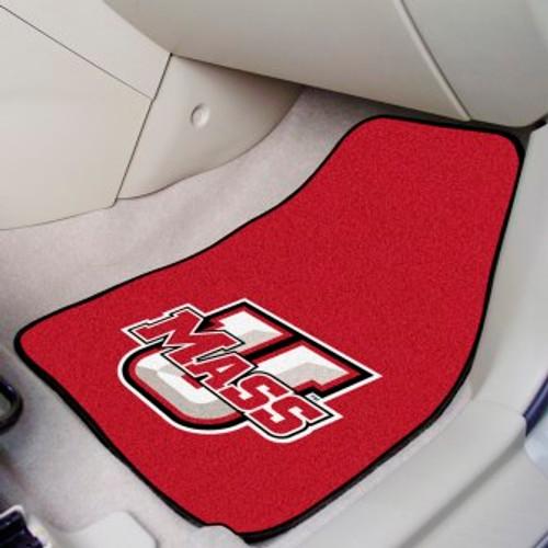 University of Massachusetts 2-pc Carpet Car Mat Set
